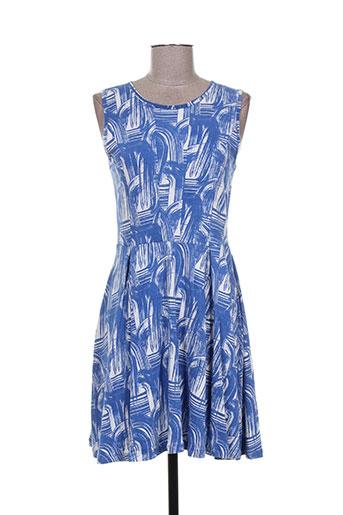 paramita robes femme de couleur bleu