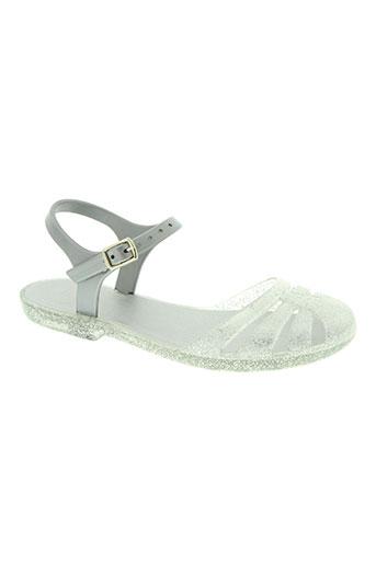 igor chaussures fille de couleur gris