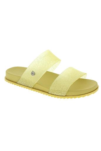 igor chaussures femme de couleur jaune