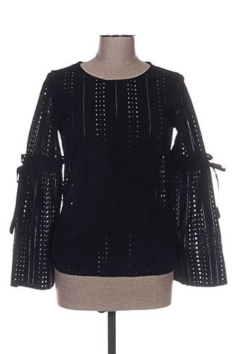 vila chemises femme de couleur noir