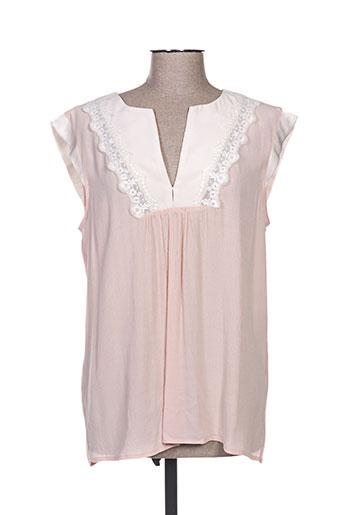 charlise chemises femme de couleur rose