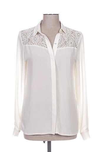 chrom chemises femme de couleur beige