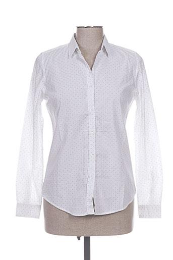 an famille chemises femme de couleur blanc