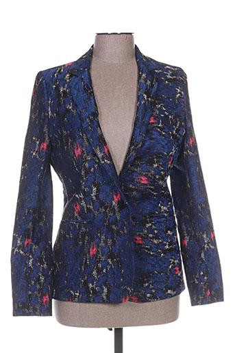 chrom vestes femme de couleur bleu