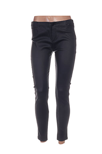 fracomina pantalons femme de couleur noir