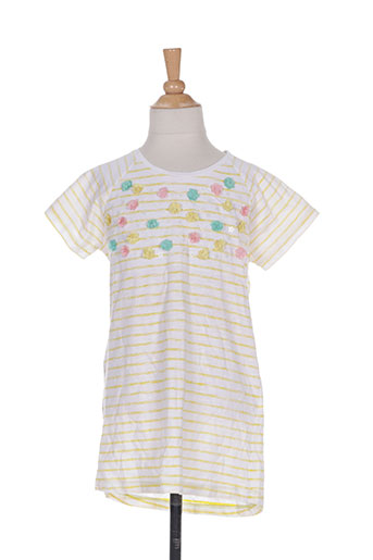piaza italia t-shirts fille de couleur jaune