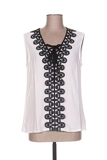 bisou's project chemises femme de couleur blanc