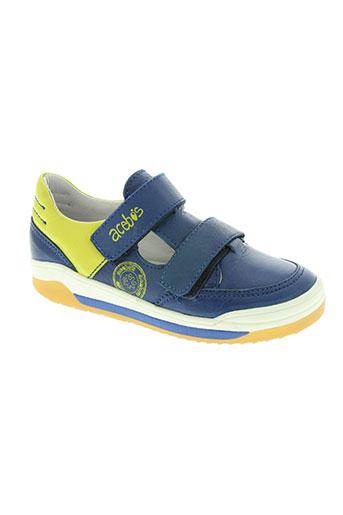 acebos chaussures garçon de couleur bleu