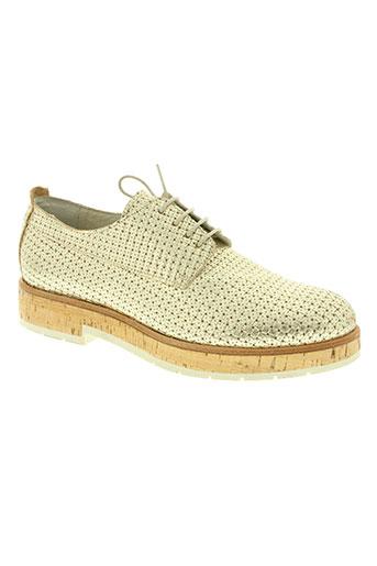 b confiture chaussures femme de couleur jaune