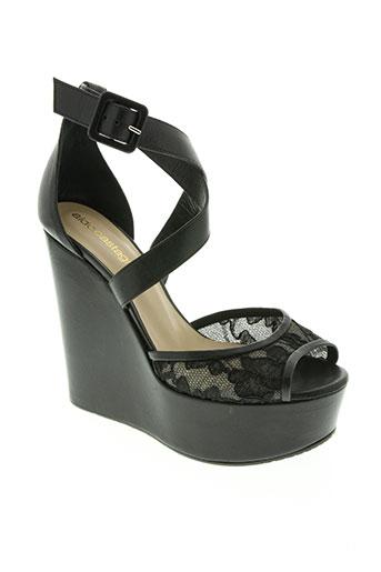 Sandales/Nu pieds noir ALDO CASTAGNA pour femme