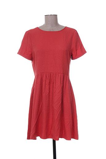 i.code (by ikks) robes femme de couleur orange