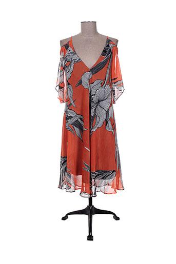 la fee maraboutee robes femme de couleur orange