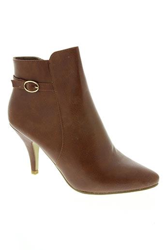 moow chaussures femme de couleur marron