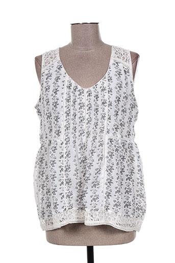 bohemia chemises femme de couleur blanc