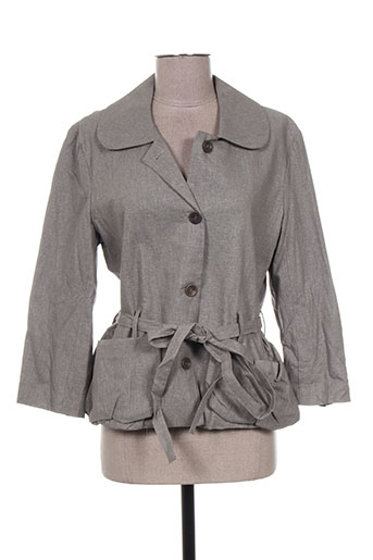 Veste casual gris BOHEMIA pour femme