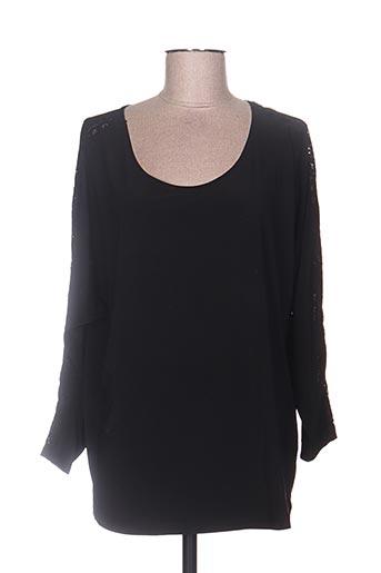 violette EFFI_CHAR_1 sarah t-shirts femme de couleur noir