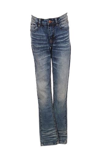 nukutavake jeans garçon de couleur bleu