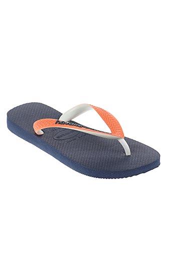 havaianas chaussures enfant de couleur orange
