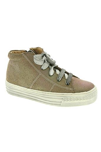 shwik chaussures fille de couleur marron