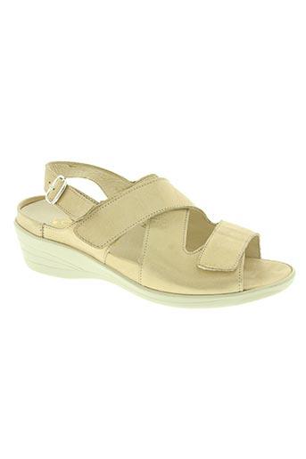 adour chaussures femme de couleur beige