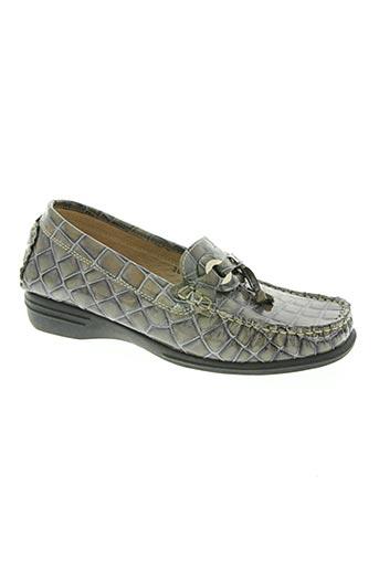 adour chaussures femme de couleur gris
