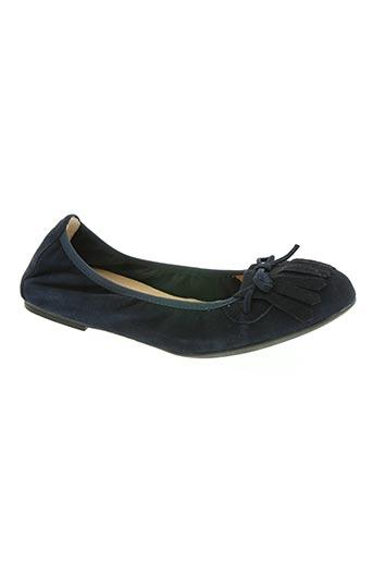 unisa chaussures femme de couleur bleu