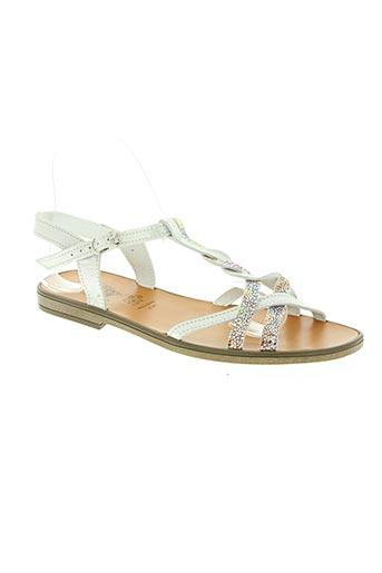 bellamy chaussures femme de couleur blanc