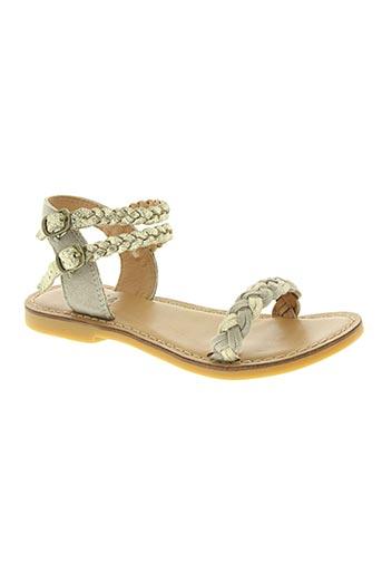shwik chaussures fille de couleur beige