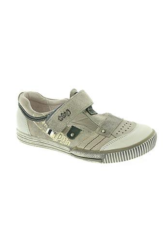 tty chaussures garçon de couleur gris