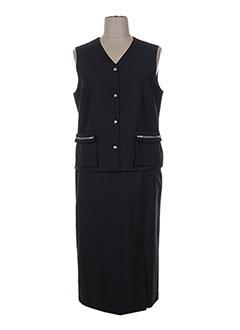 Veste/jupe noir BRIGITTE SAGET pour femme
