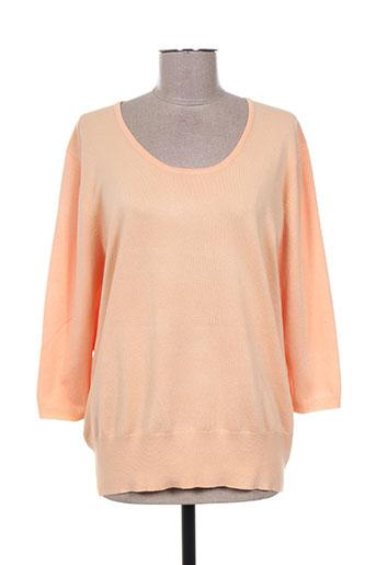 m.x.o pulls femme de couleur orange