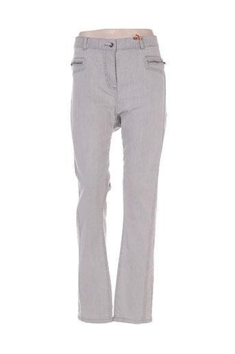 jensen jeans femme de couleur gris