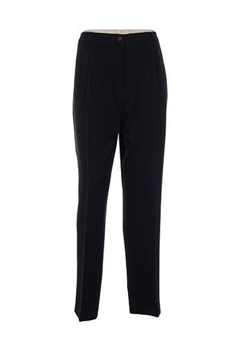Pantalon chic noir ELSSA pour femme