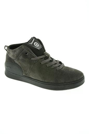 vespa chaussures homme de couleur gris