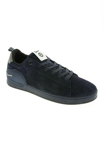 vespa chaussures homme de couleur bleu