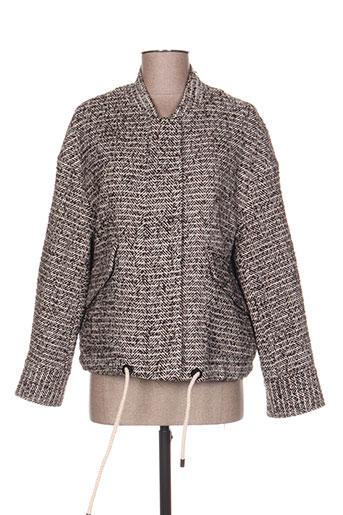 the korner vestes femme de couleur marron