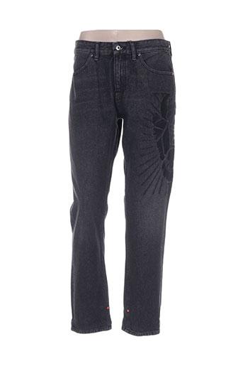 Jeans boyfriend noir SCOTCH & SODA pour femme