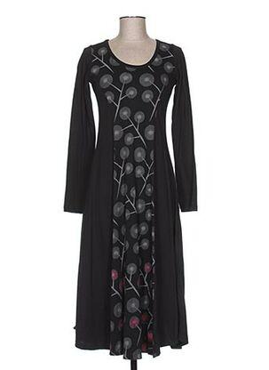 Robe longue gris ALLER SIMPLEMENT pour femme