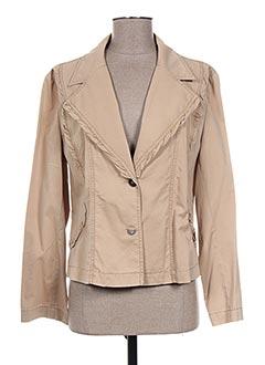 Veste casual beige GRIFFON pour femme