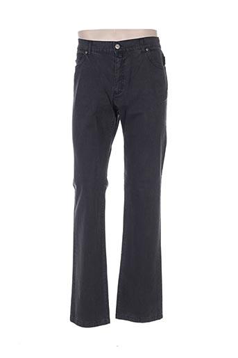 gianni marco pantalons homme de couleur gris