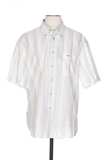 dario beltran chemises homme de couleur vert