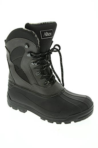 altex chaussures homme de couleur gris