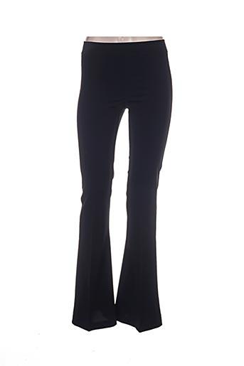 Pantalon chic noir AVENUE MONTAIGNE pour femme