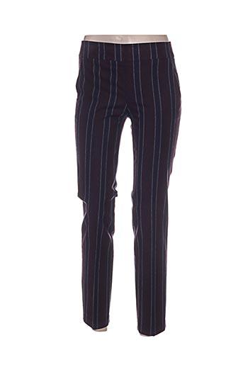 Pantalon chic violet AVENUE MONTAIGNE pour femme