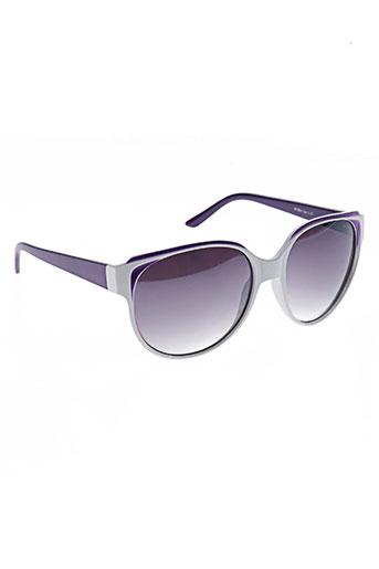 Lunettes de soleil violet ELEGANT pour femme