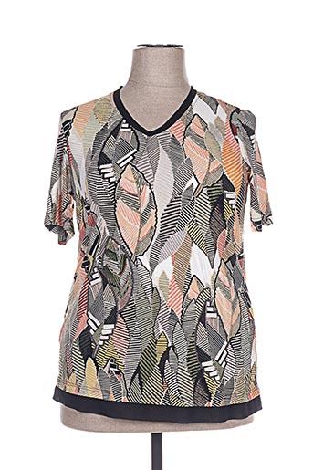 aprico t-shirts femme de couleur beige