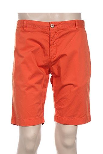 giorgio bellini shorts / bermudas homme de couleur orange