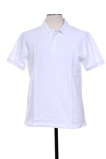 giorgio bellini t-shirts homme de couleur blanc