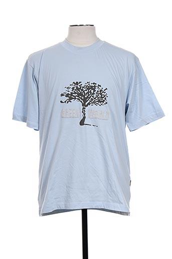 easyline t-shirts homme de couleur bleu