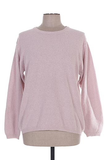manadour pulls femme de couleur rose